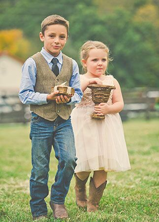 Casual Ring Bearer | Connection Photography | Blog.theknot.com