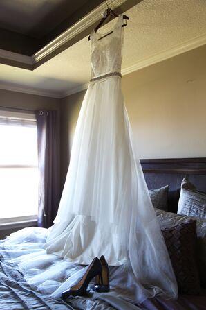 Custom Empire Waist Wedding Dress