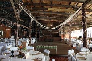 An Indoor Gallagher Barn Reception