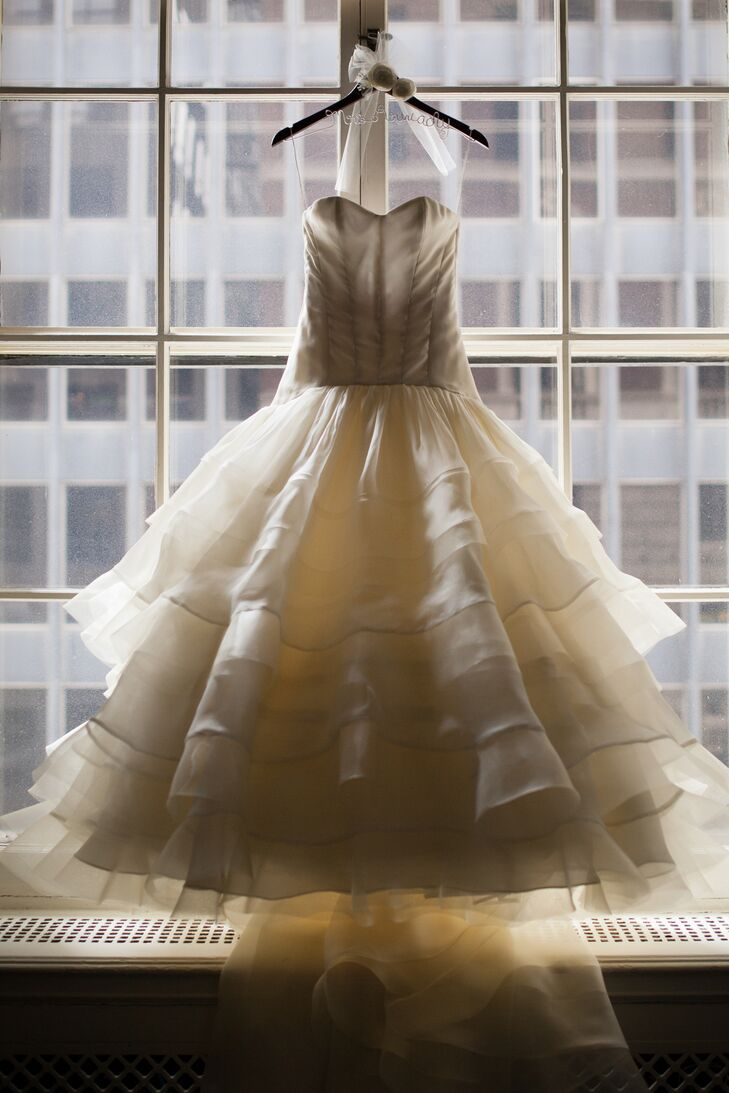 Custom Made Ball Gown Wedding Dress
