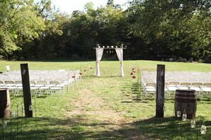 An Outdoor Gallagher Barn Ceremony