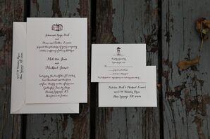 Simple Barn-Inspired Invitation Suite
