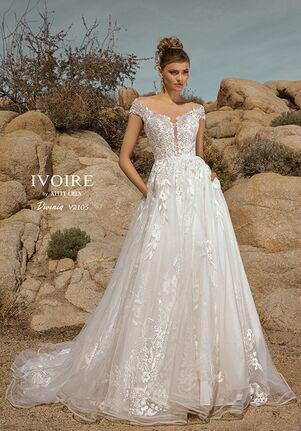 IVOIRE by KITTY CHEN DIVINIA,V2105 A-Line Wedding Dress