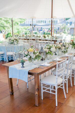 Elegant, Tented Backyard Reception