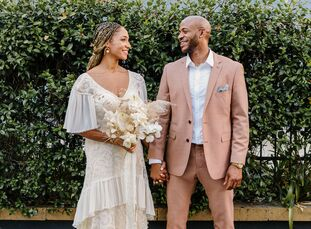 Lori Virdure and Sebastian Bracy met on vacation in San Juan, Puerto Rico, but they soon realized they grew up in the same city. The pair got engaged
