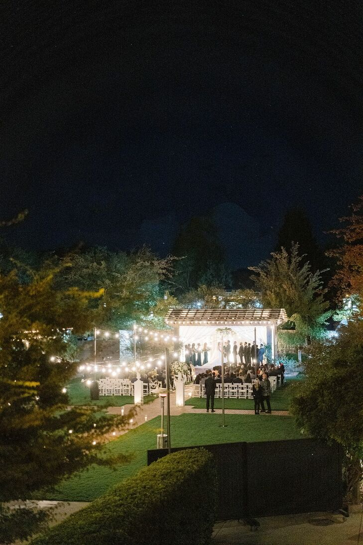 Wedding Reception in Yountville, California