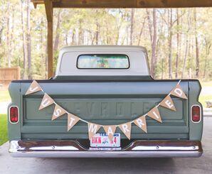 Vintage Chevrolet Pickup Truck Exit Car