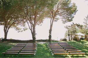 Elegant, Rustic Outdoor Ceremony in Big Sur