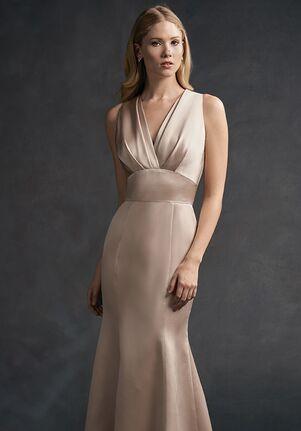 Belsoie Bridesmaids by Jasmine L194065 V-Neck Bridesmaid Dress