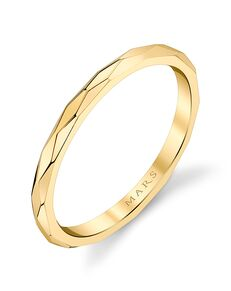 MARS Fine Jewelry MARS Jewelry 27249 Wedding Band Gold, Rose Gold, White Gold Wedding Ring