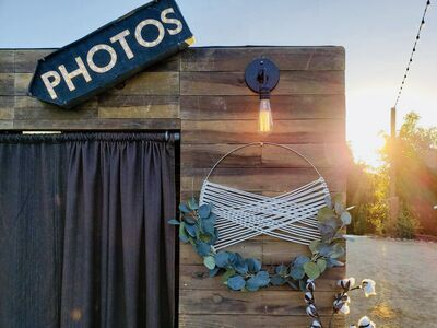 The Wooden Box Photo Booth