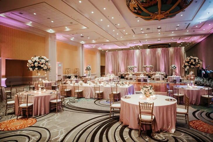 Ballroom Wedding Reception at Gaylord Palms Resort in Orlando, Florida