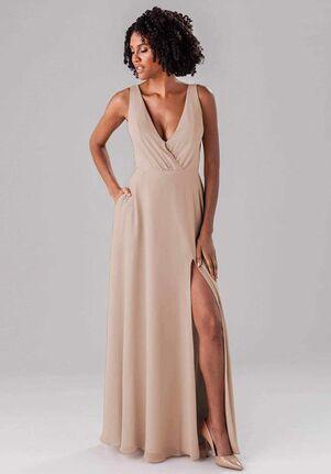 Kennedy Blue Lydia V-Neck Bridesmaid Dress
