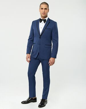 LE CHÂTEAU Wedding Boutique Tuxedos MENSWEAR_361376_019 Blue Tuxedo