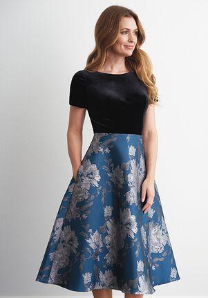 Jasmine Black Label Mother of the Bride M200065U Blue Mother Of The Bride Dress