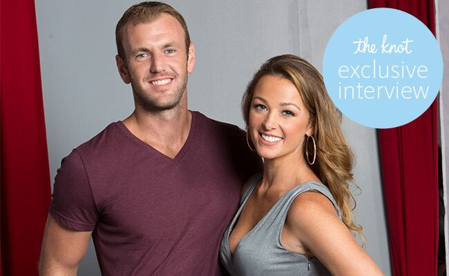 Jamie Otis and Doug Hehner from Married at First Sight pose together