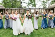 As an editor at America's Test Kitchen, Carolyn Grillo knows a thing or two about good food. So when it came time to plan her wedding to Erin Deadmon,