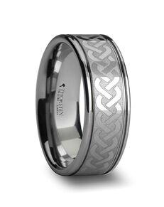 Mens Tungsten Wedding Bands W279-LE2 Tungsten Wedding Ring