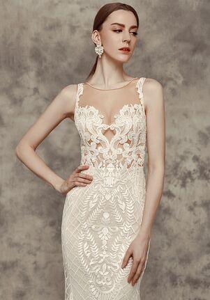 Calla Blanche 16243 Victoria Sheath Wedding Dress