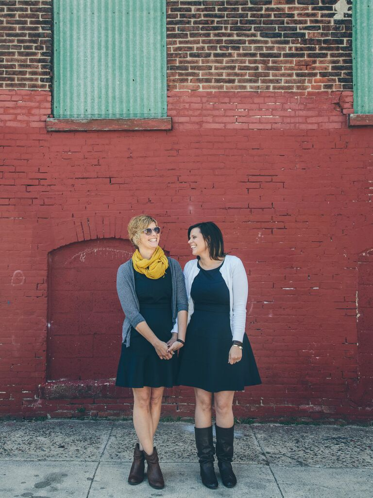 downtown philadelphia engagement photos