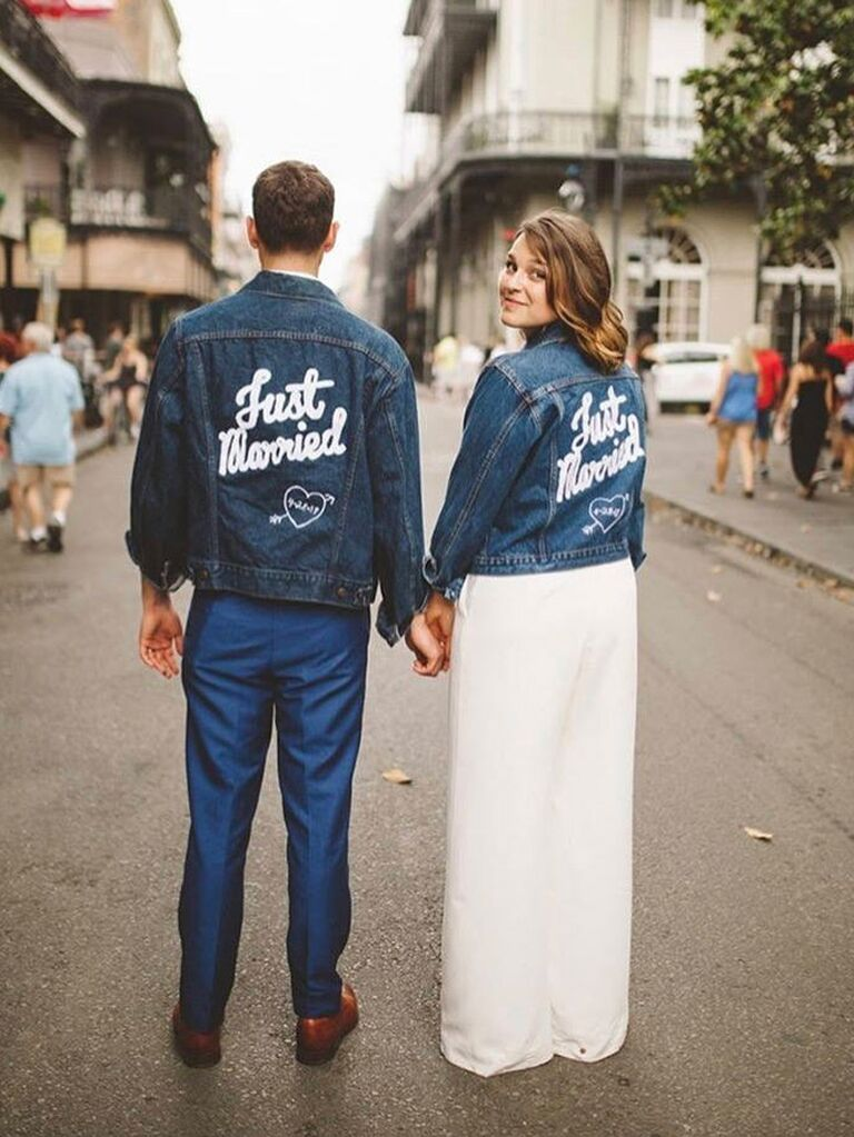 Just Married jackets