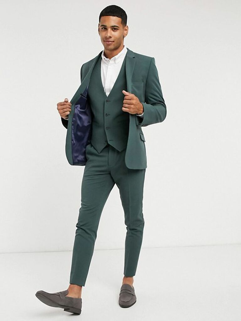 courthouse wedding suit