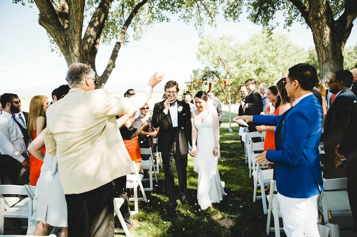 La Mesita Ranch Estate Outdoor Ceremony