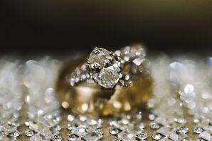 Classic Oval-Shaped Engagement Ring