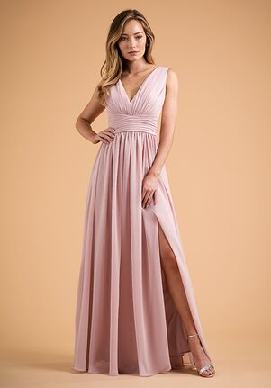 B2 Bridesmaids by Jasmine B223007 V-Neck Bridesmaid Dress