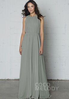 CocoMelody Bridesmaid Dresses PR17020 Bateau Bridesmaid Dress