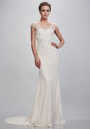 THEIA 890522 Sheath Wedding Dress