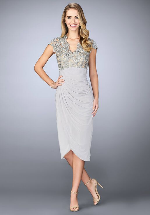 La Femme Evening 23124 Green Mother Of The Bride Dress
