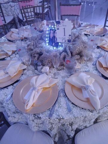 Chandelier Banquet Hall Reception Venues Las Vegas Nv