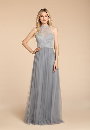 Hayley Paige Occasions 5960 Halter Bridesmaid Dress