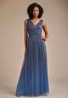 Belsoie Bridesmaids by Jasmine L224065 V-Neck Bridesmaid Dress