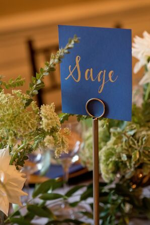Elegant Herb-Inspired Table Names