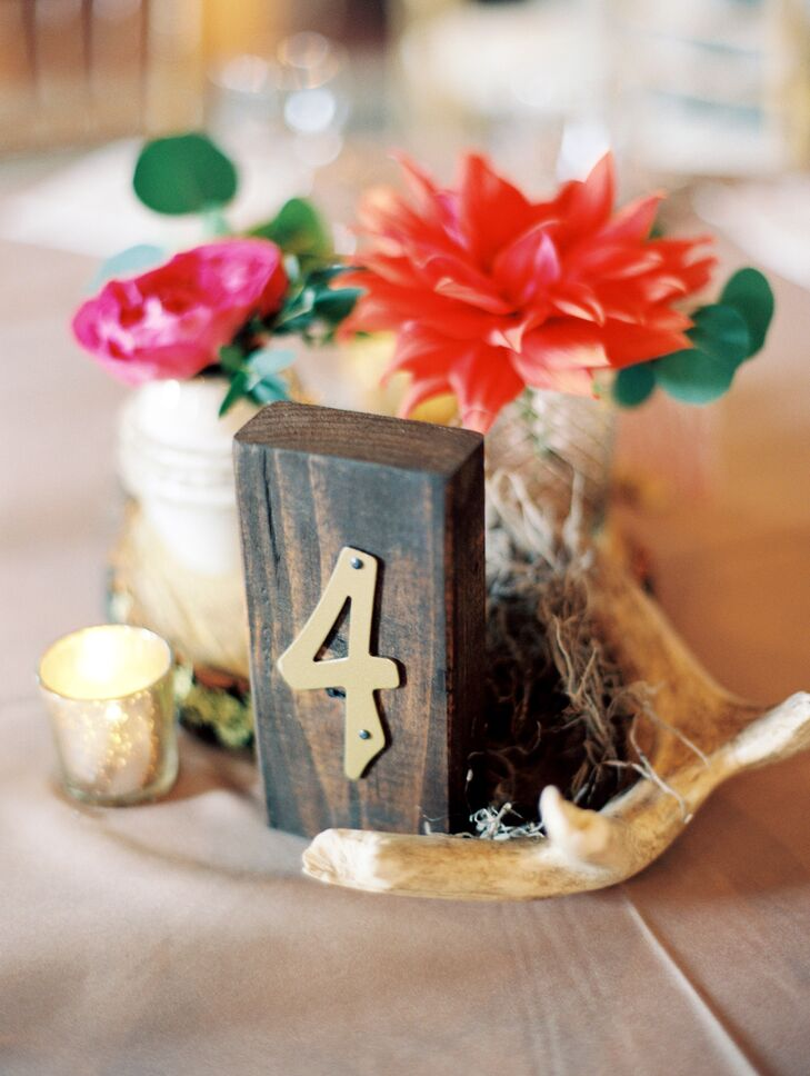 Handmade Wood Table Numbers