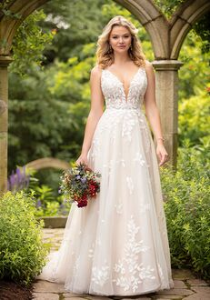 Essense of Australia D3023 A-Line Wedding Dress