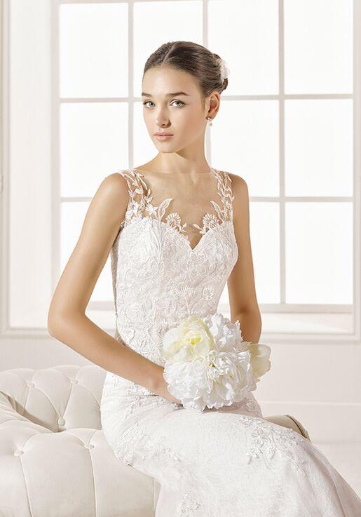 Adriana Alier Zabid Sheath Wedding Dress