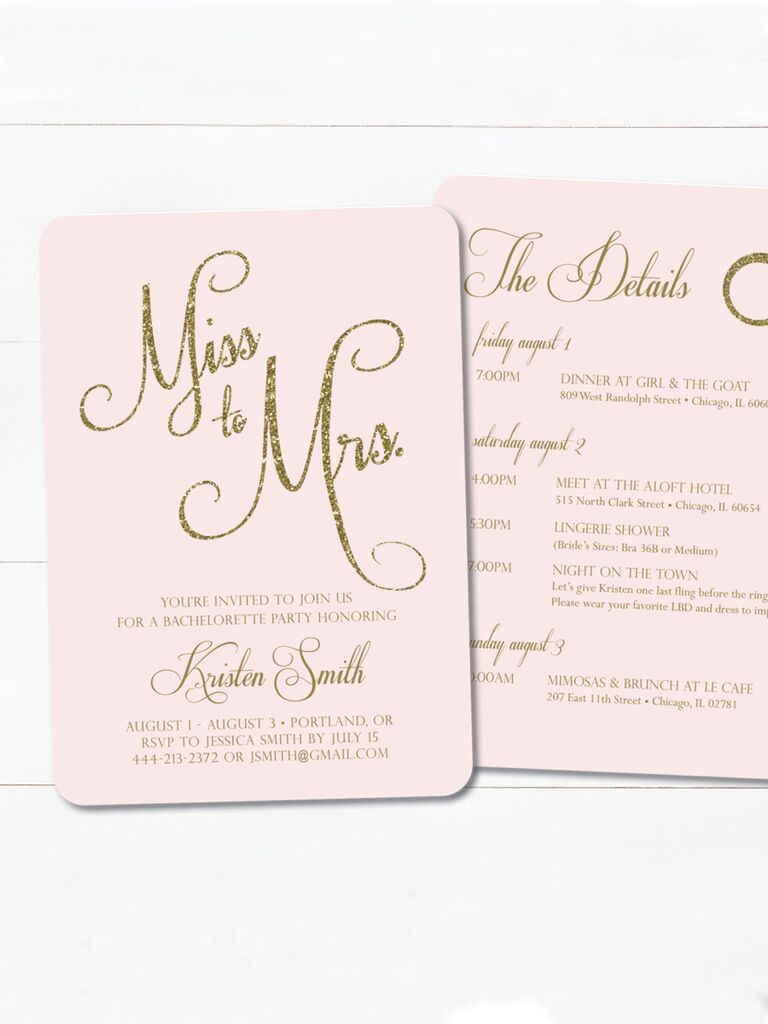miss to mrs printable bridal shower printable invitation