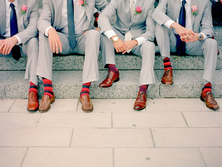 Groomsman socks