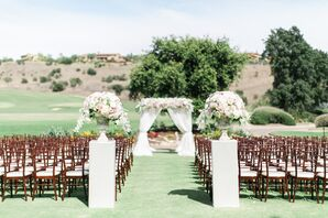 Elegant Outdoor Ceremony in San Diego