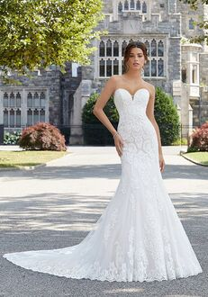 Morilee by Madeline Gardner/Blu Shoshanna 5803 Sheath Wedding Dress