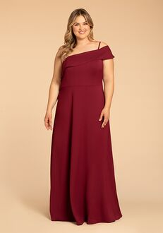Hayley Paige Occasions W914 One Shoulder Bridesmaid Dress