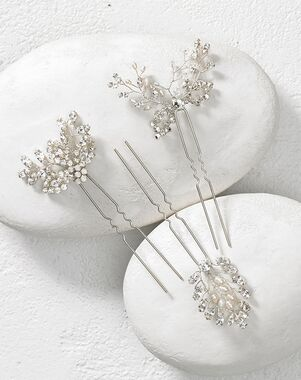 To Have & To Borrow Petal Silver Headband
