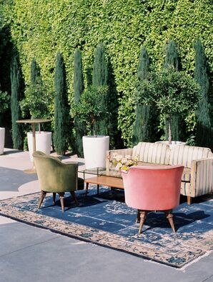Modern Bohemian Lounge Furniture at The Fig House in Los Angeles, California