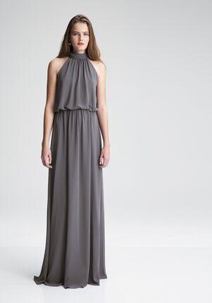 #LEVKOFF 7003 Halter Bridesmaid Dress
