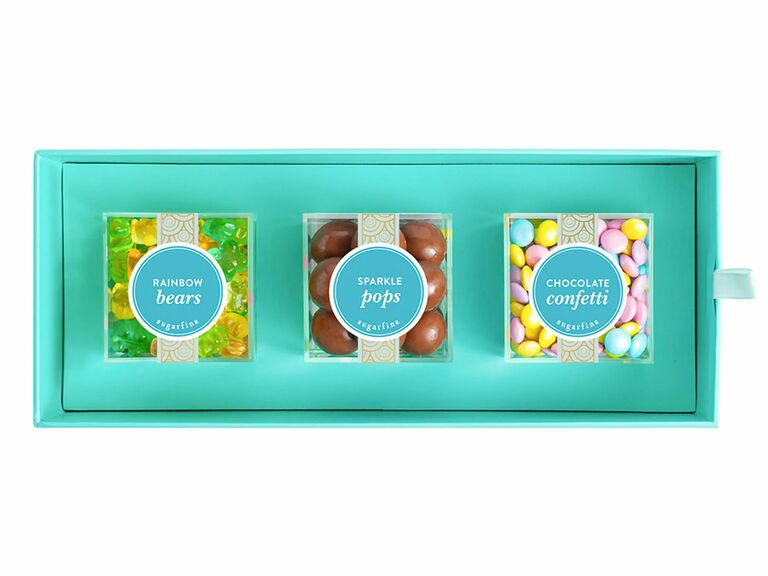 candy bento box engagement gift for her