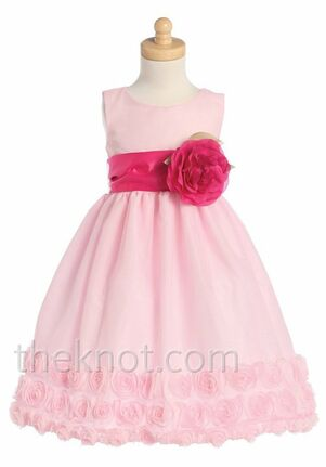 Pink Princess BL211 Pink Flower Girl Dress