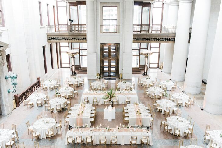 Elegant Ohio Statehouse Reception